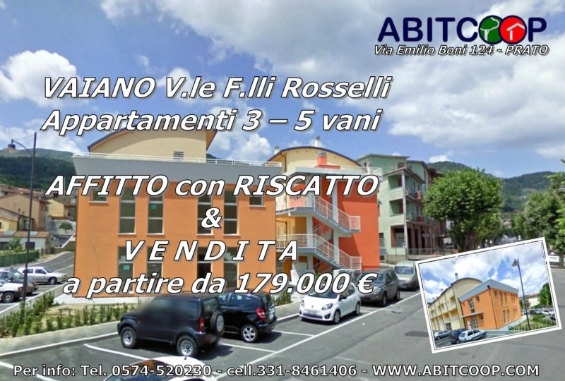Abitcoop propone il rent to buy (affitto con riscatto) a Vaiano